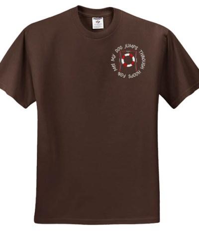 Embroidered Dog Agility Shirt