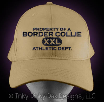 Embroidered Border Collie Hat
