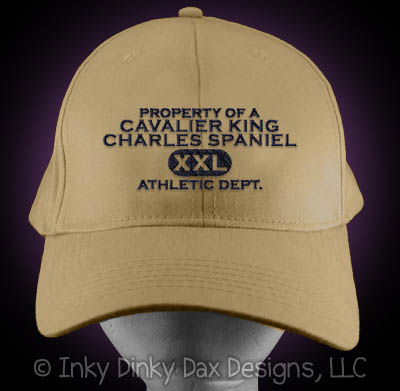 Embroidered Cavalier King Charles Spaniel Hat