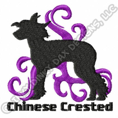 Cool Chinese Crested Embroidery