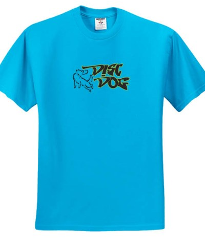 Embroidered Disc Dog TShirt