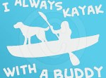 Canine Kayaking Decal