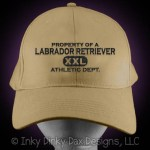 Property of a Labrador Retriever Hat