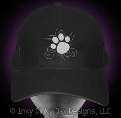 Tribal Paw Print Hat