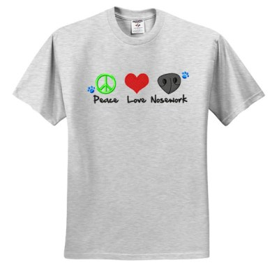 Embroidered Nosework TShirt