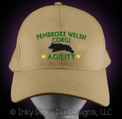 Embroidered Corgi Agility Hat