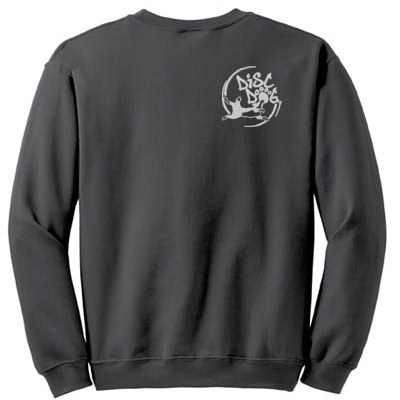 Circle Disc Dog Embroidered Sweatshirt