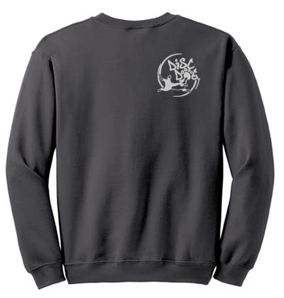 Circle Disc Dog Embroidered Sweatshirt