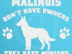 Funny Malinois Decal