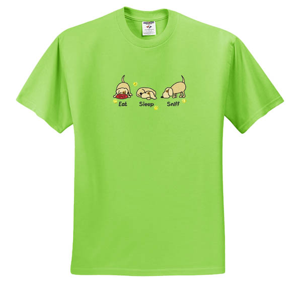 Cute Embroidered Nosework TShirt