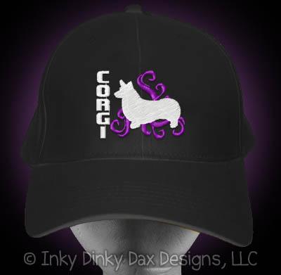 Cool Embroidered Corgi Hat
