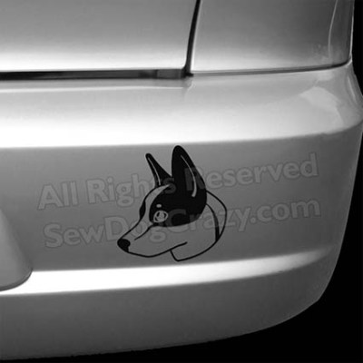 Cattle Dog Car Decals