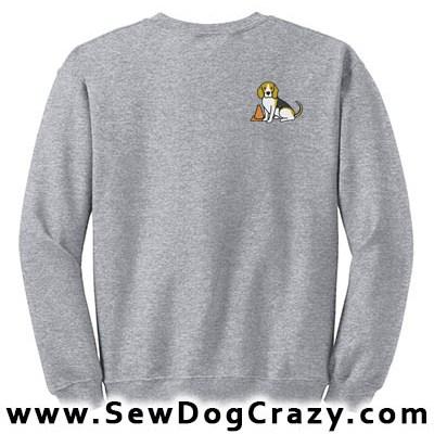 Embroidered Beagle Rallyo Sweatshirt