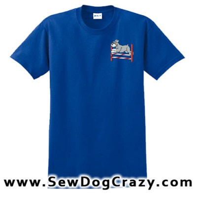 Schnauzer Bar jump Tshirt