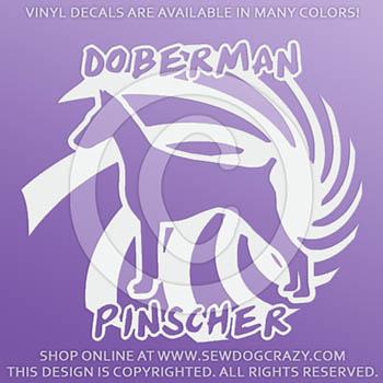 Cool Doberman Decals