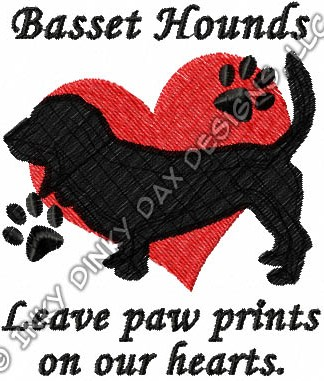 Basset Hounds Leave Paw Prints On Our Hearts