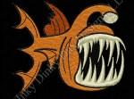 Deep Sea Angler Fish Embroidery