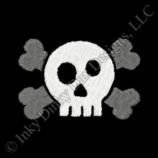 Crazy Skull Embroidery