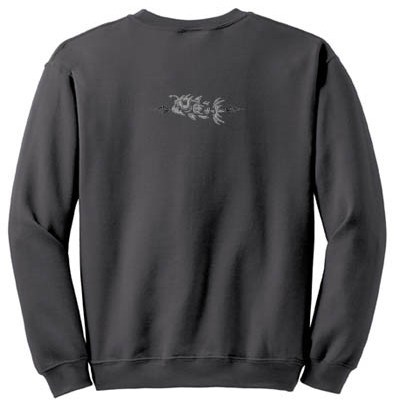 Embroidered Angler Fish Sweatshirt