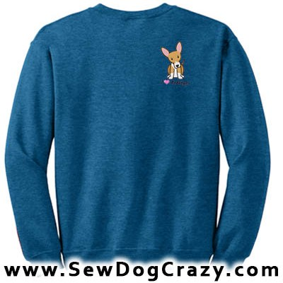 Cartoon Portuguese Podengo Sweatshirt