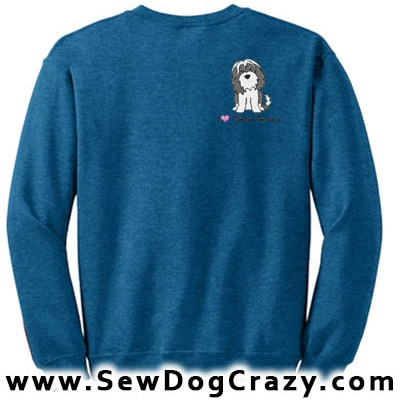 Cartoon Tibetan Terrier Sweatshirt
