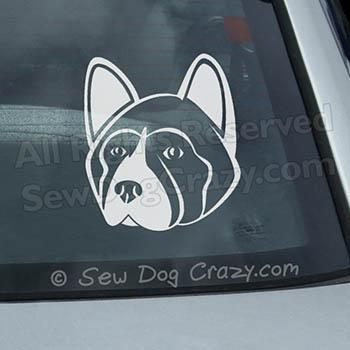 Akita Car Window Sticker