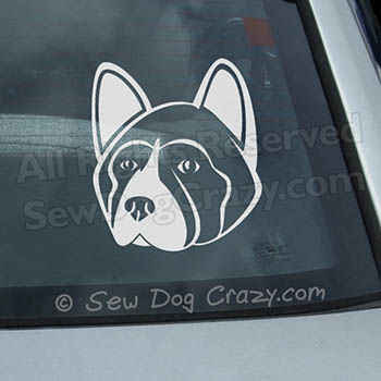 Akita Car Window Sticker