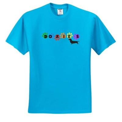 Fun Colorful Dachshund T-Shirt