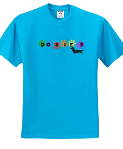 Fun Colorful Dachshund T-Shirt