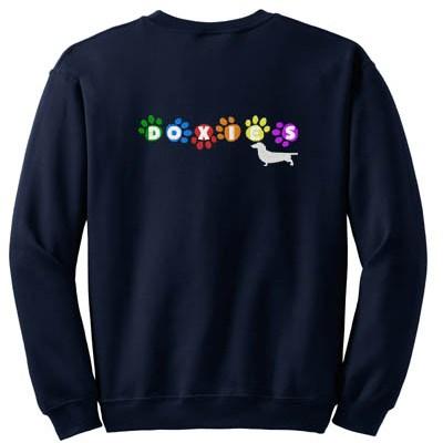 Embroidered Dachshund Sweatshirt