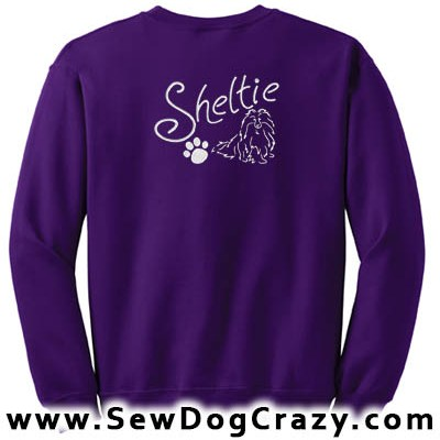Pretty Sheltie Sweatshirt