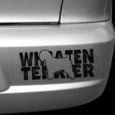 Soft Coated Wheaten Terrier Bumper Stickers