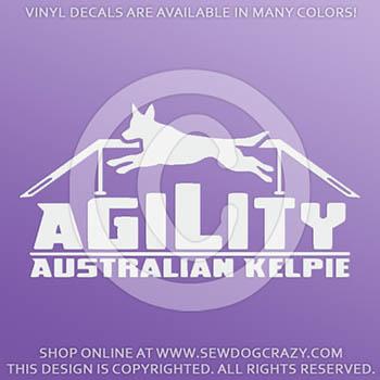 Dog Walk Kelpie Decals