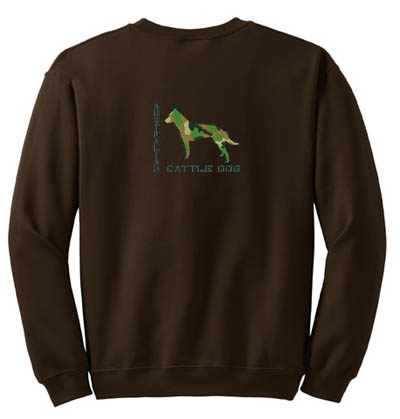 Military Cattle Dog Embroidered Apparel