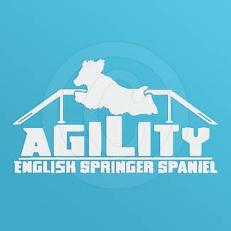 Agility English Springer Spaniel Decals