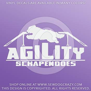 Agility Schapendoes Decals