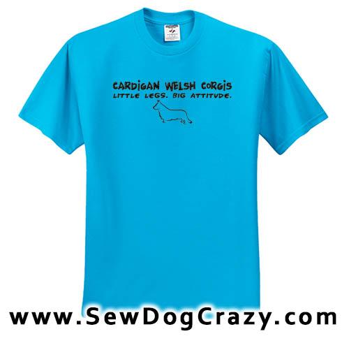 Funny Cardigan Welsh Corgi Tshirt