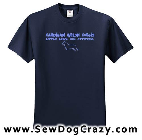Cardigan Welsh Corgi Attitude Tshirt