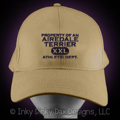 Property of an Airedale Terrier Hat