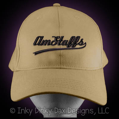 Baseball American Staffordshire Terrier Hat