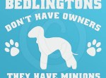 Funny Bedlington Terrier Stickers