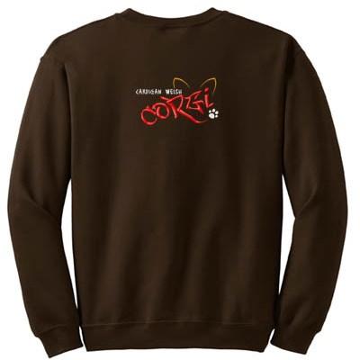 Cool Graffiti Corgi Sweatshirt