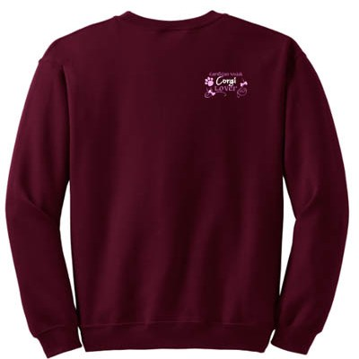Pretty Cardigan Welsh Corgi Sweatshirt