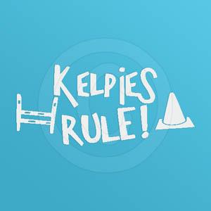 Kelpies Rule Vinyl sticker