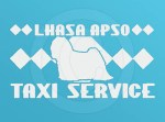Lhasa Apso Taxi Sticker