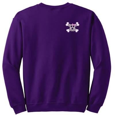Goth Punk Dog Lover Sweatshirt