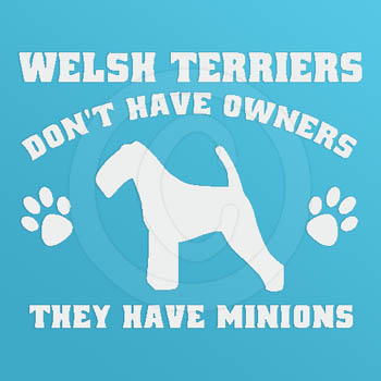 Funny Welsh Terrier Decals