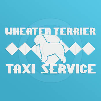 Funny Soft Coated Wheaten Terrier Stickers