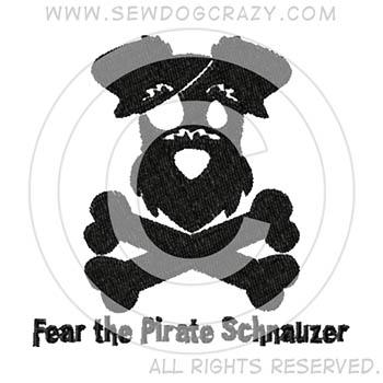 Pirate Schnauzer Shirts