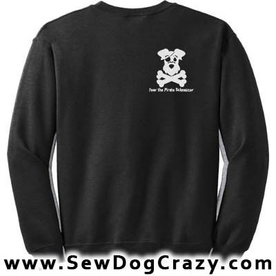 Pirate Schnauzer Sweatshirt
